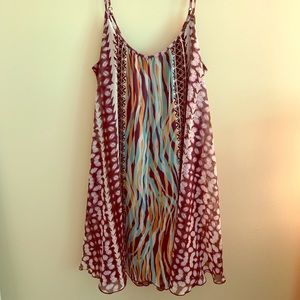 EXPRESS Medium Tribal Patterned Dress